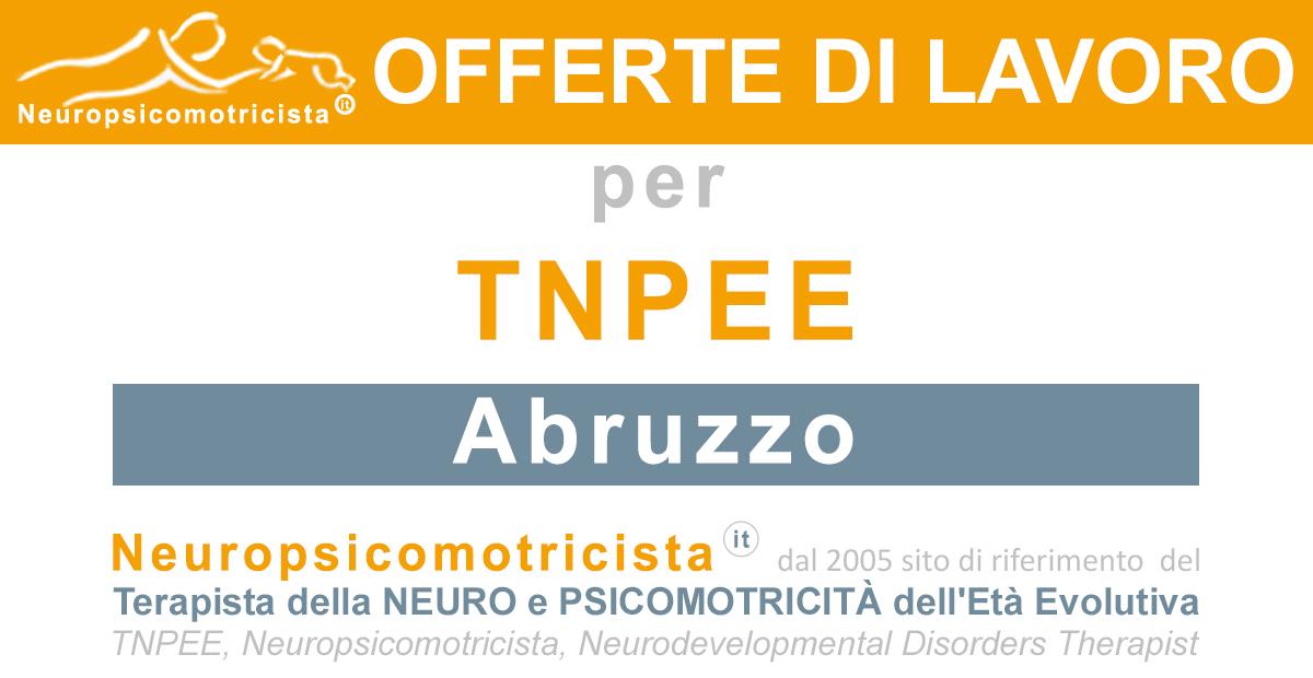 Offerte di Lavoro - www.neuropsicomotricista.it