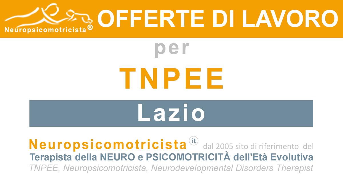 Offerte Di Lavoro Www Neuropsicomotricista It