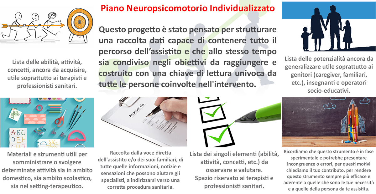 Piano Neuropsicomotorio Individualizzato (PNI)