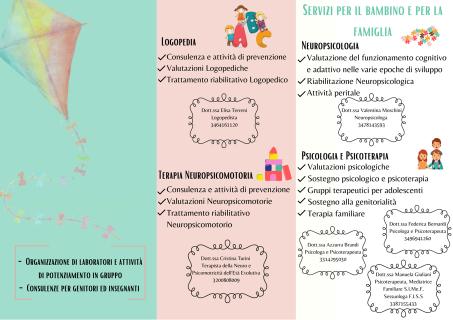 Brochure Area Infanzia Centro Clinico DAS di Lucca